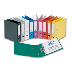 Lever Arch File PVC Yellow A4 [Pack 10]